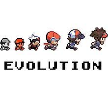 Pokemon evolution - Classic Photographic Print