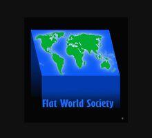 FLAT WORLD SOCIETY Unisex T-Shirt