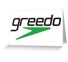 Greedo Greeting Card