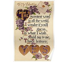Valentine - yes Poster