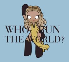 run the world Kids Tee