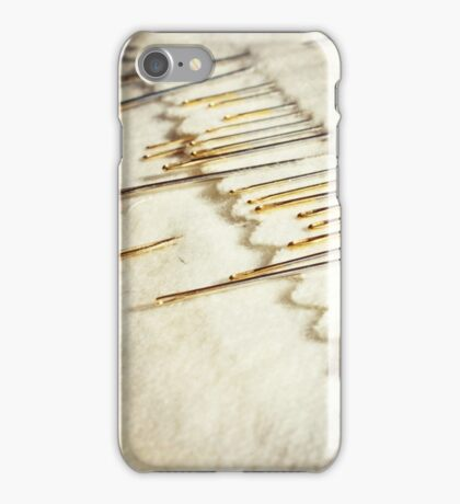 Sewing Needles iPhone Case/Skin