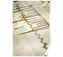 Sewing Needles Poster