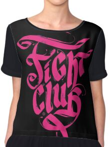 Fight Club Chiffon Top