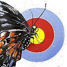 Butterfly effect from original art by Veera Pfaffli