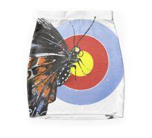 Butterfly effect from original art Mini Skirt