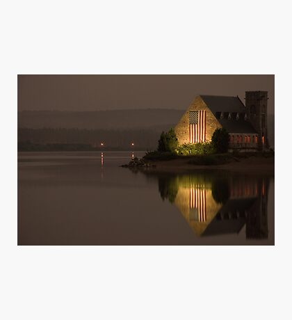 The Old Stone Church  Photographic Print