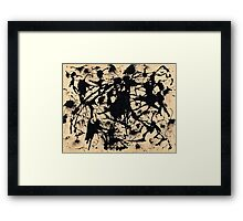 In the style of Jackson Pollock - 1 Framed Print
