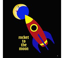 ROCKET TO THE MOON Photographic Print