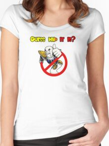 Guess who it is? Women's Fitted Scoop T-Shirt