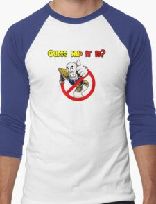 Guess who it is? Men's Baseball ¾ T-Shirt