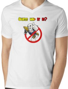 Guess who it is? Mens V-Neck T-Shirt