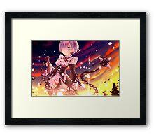 Re Zero kara hajimeru Framed Print