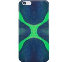 Green X iPhone Case/Skin