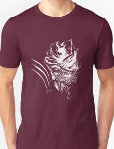 Wrex - Mass Effect - White Unisex T-Shirt