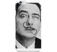 avida dollar = Salvador Dali portrait - 1 figure face iPhone Case/Skin