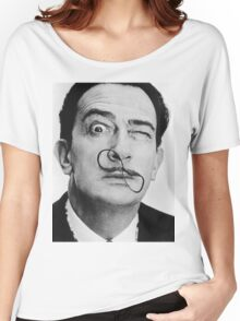 avida dollar = Salvador Dali portrait - 1 figure face Women's Relaxed Fit T-Shirt