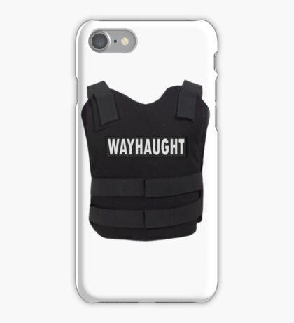 WayHaught bullet proof vest - Wynonna Earp iPhone Case/Skin