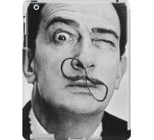 avida dollar = Salvador Dali portrait - 1 figure face iPad Case/Skin