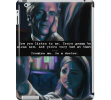 You're Going to be Alone Now iPad Case/Skin