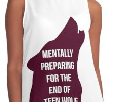 The end of Teen Wolf Contrast Tank