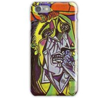 In the style of pablo picasso - 1 iPhone Case/Skin