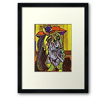 In the style of pablo picasso - 1 Framed Print