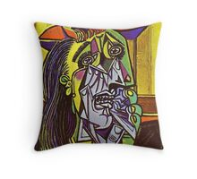 In the style of pablo picasso - 1 Throw Pillow