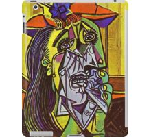 In the style of pablo picasso - 1 iPad Case/Skin