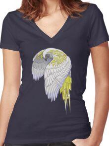 Thunder Hawk Women's Fitted V-Neck T-Shirt