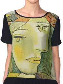 In the style of pablo picasso - 2 Chiffon Top