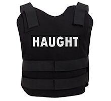 Haught Bullet Proof Vest - Wynonna Earp Photographic Print