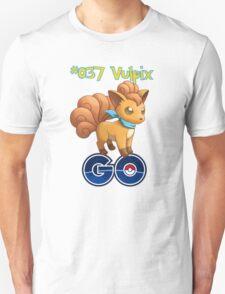037 Vulpix GO! Unisex T-Shirt