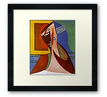 In the style of pablo picasso - 3 Framed Print