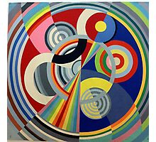 In the style of Robert Delaunay - 1 Photographic Print