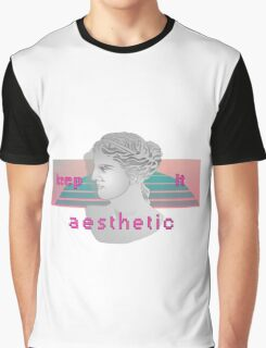 Keep it aesthetic Graphic T-Shirt