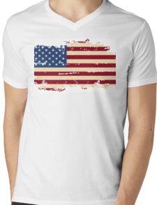 Real American Mens V-Neck T-Shirt