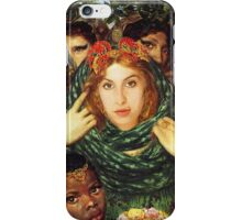 Amy Winehouse as The Beloved by Dante Gabriel Rossetti iPhone Case/Skin