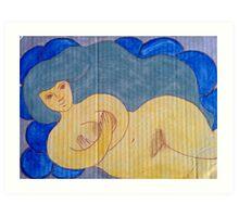 Water Goddess  Art Print