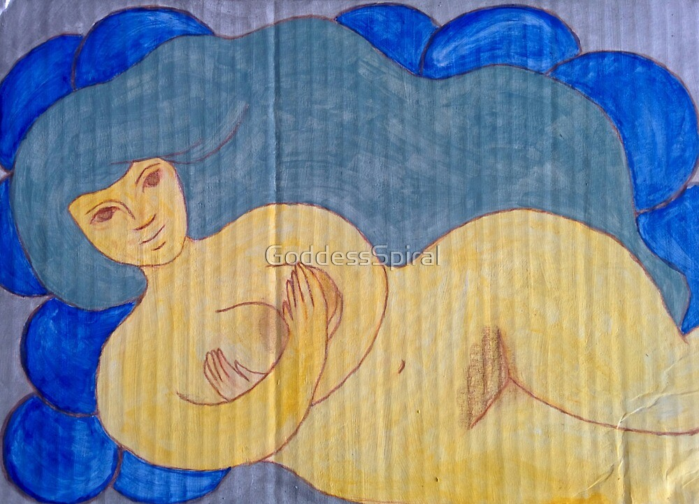 Water Goddess  by Paola Suarez