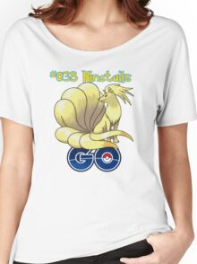 038 Ninetails GO! Women's Relaxed Fit T-Shirt