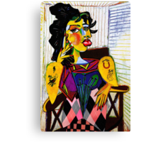 Amy as Portrait of Dora Maar Canvas Print