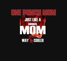 ONE PUNCH MOM Womens Fitted T-Shirt