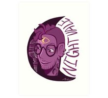Cecil- Welcome To Night Vale Art Print