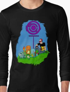 Pokemon Go - A life in the day  Long Sleeve T-Shirt
