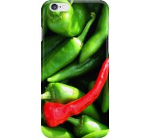 Red or Green? iPhone Case/Skin