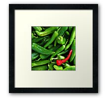 Red or Green? Framed Print