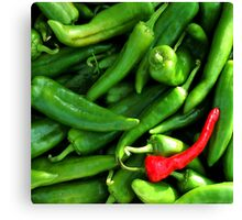Red or Green? Canvas Print