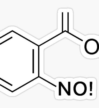 Disaster Molecule Sticker