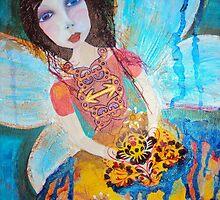 Tooth Fairy by Karen Veal by Karen  Veal